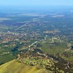 Vista aerea de Merlo